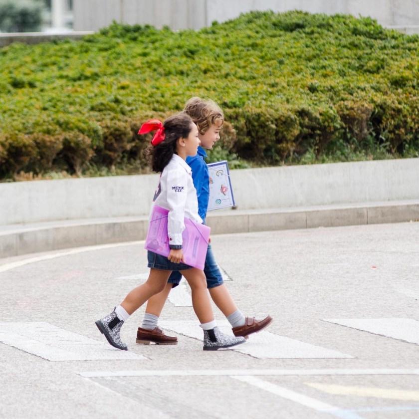 Niños de vuelta al cole