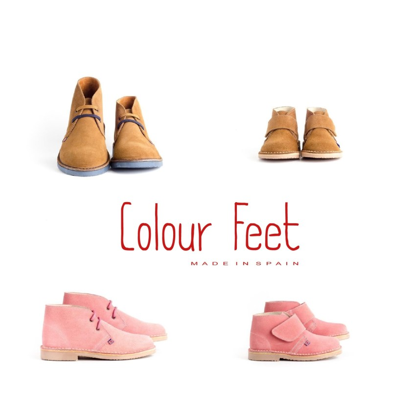 Colour Feet & Colour Feet Kids