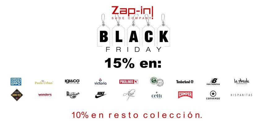 Black Friday 2017 en www.zapin.es