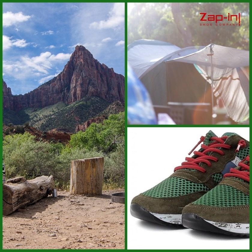 Deportivas Cetti, ideales para ir de camping.