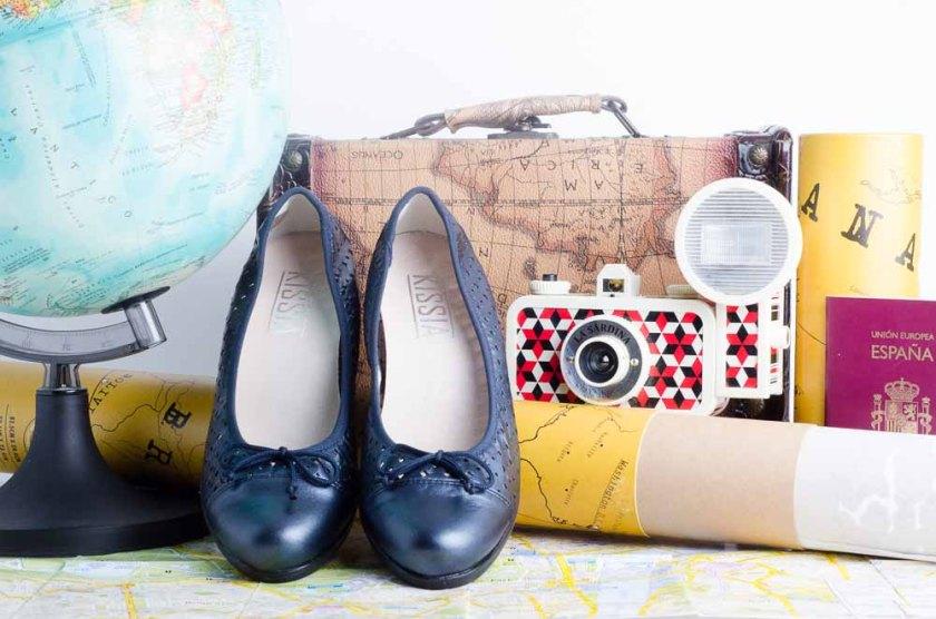 Zapato de salón Kissia con plantillas extraíbles.