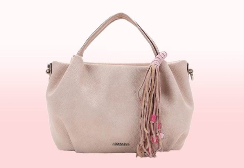 Bolso Abbacino 80060 en color rosa.