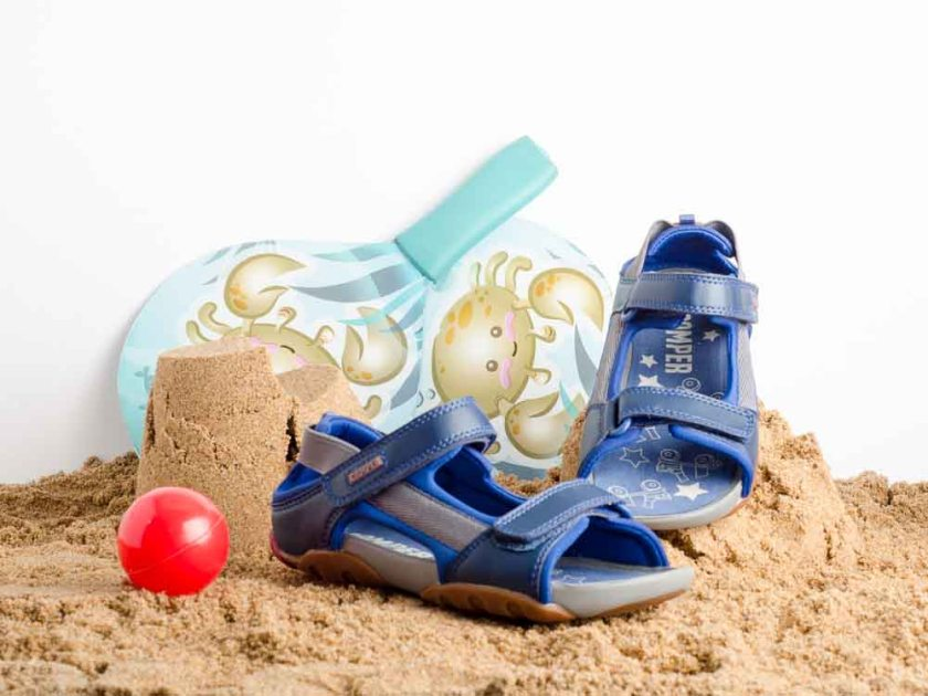 Sandalia infantil para niño Camper 80188-050