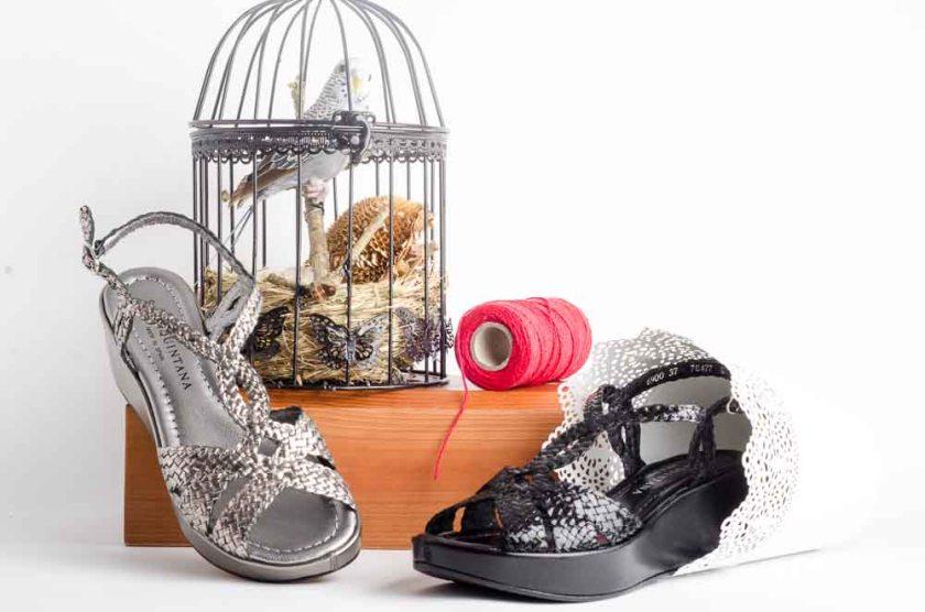 sandalias de piel pons quintana trenzadas 6900 en varios colores