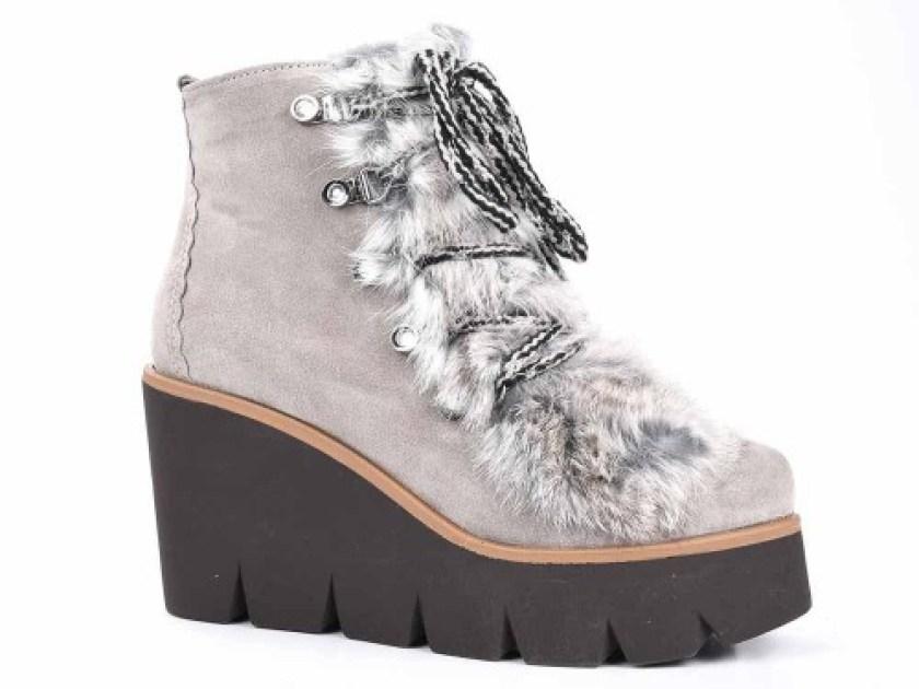 Botines de pelo para mujer de Alpe Woman Shoes