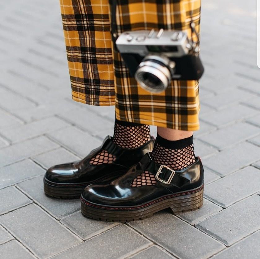 Zapato Úrsula de Bryan Stepwise, de imitación a Dr.Martens