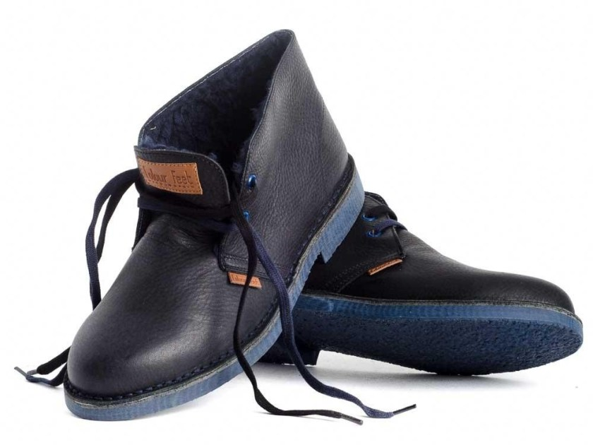 Pisacacas azules paera vestir hombre Colour Feet MOGAMBO WARM tallas del 40 al 46.