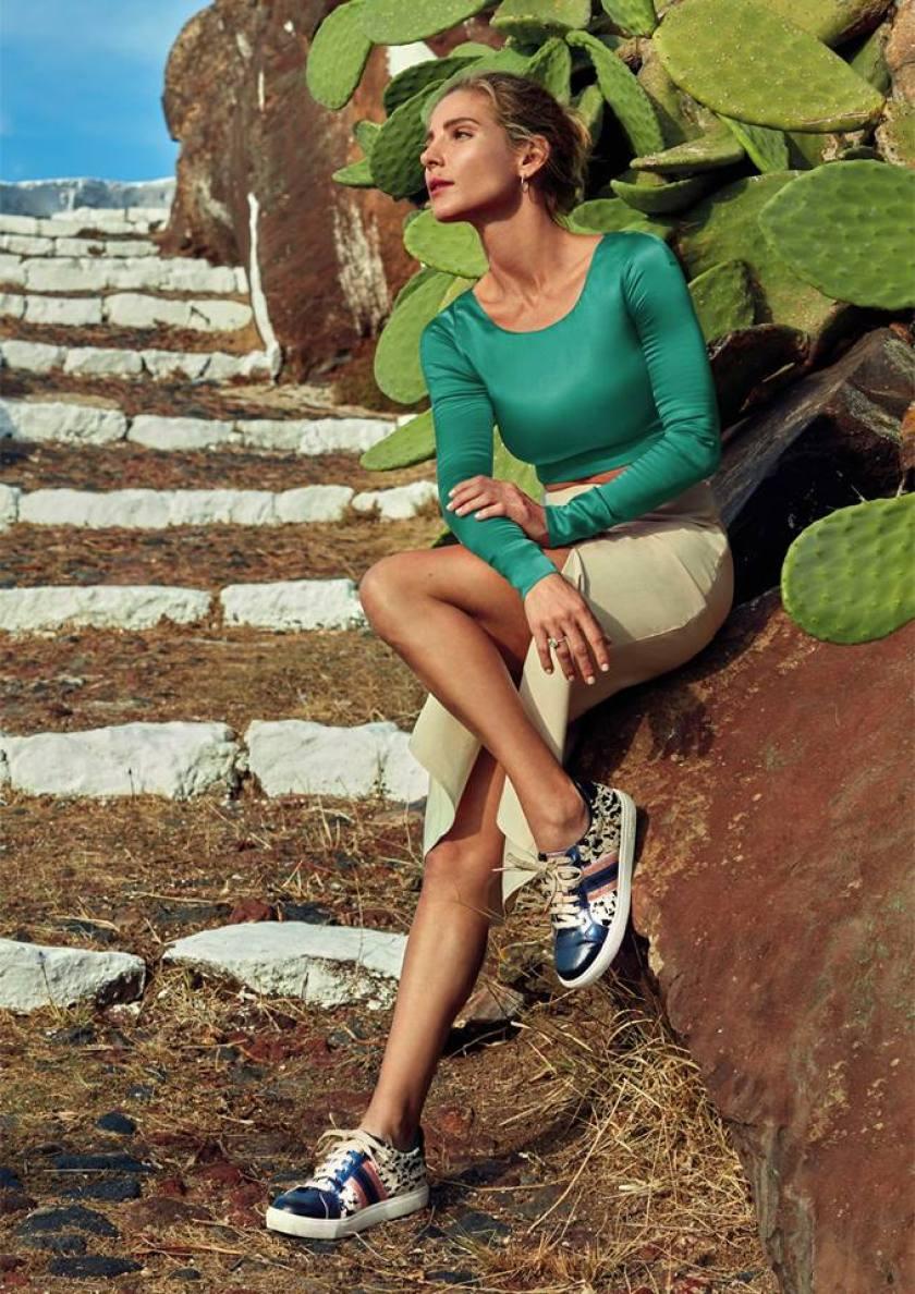 Zapatillas Gioseppo 48916 como las que lleva Elsa Pataky