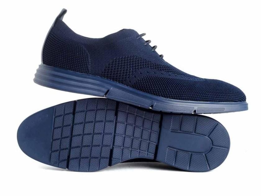 Zapatos de ante color azul o negro marca Hobb's MC 07420-01