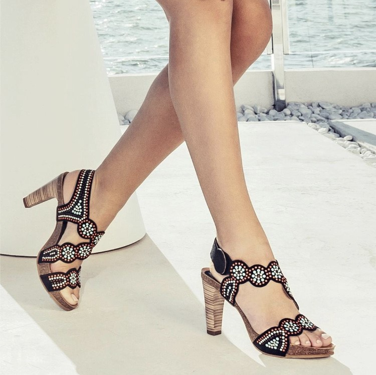 Sandalias de tacón Penélope