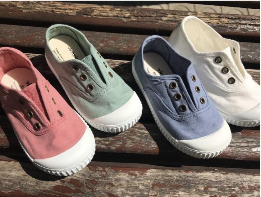 Zapatillas de niños Victoria.