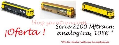 Oferta serie 2100 de Mftrain - Zaratren.com