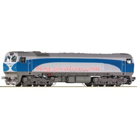 Roco - Locomotora Diésel Serie 319, RENFE, Grandes Líneas, Digital con Sonido, Escala H0, Ref: 73693