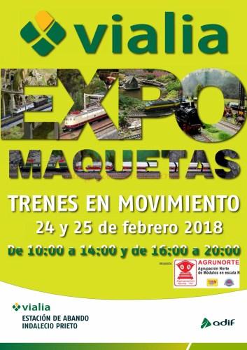Exposiciones - Agrupación Agrunorte nos informa de su exposición los días 24 y 25 de Febrero en la estación de Abando ( Bilbao)