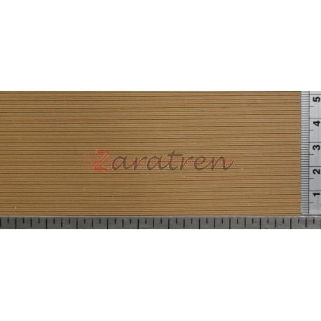 Redutex - Lama de madera, Ref: 087LM112, color madera.