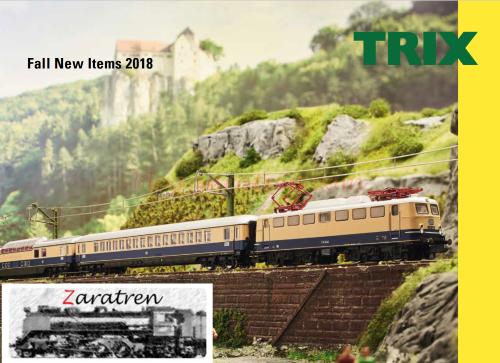 Catalogo Trix novedades Otoño 2018