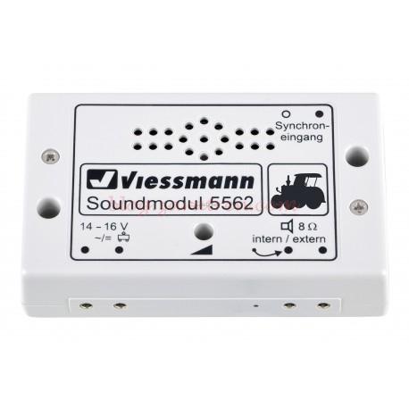 Viessmann - Módulo efecto de sonido de Tractor, con control de volumen. Ref: 5562