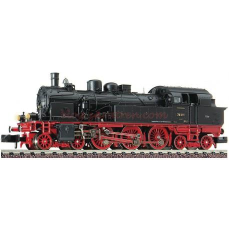 Fleischmann - Locomotora de Vapor Clase 78.0-5, DRG, época II, analógica, Escala N, Ref: 707502