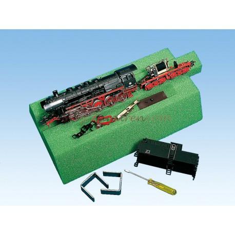 Noch - Banco de reparaciones de espuma de 12 cm, válido para escala N, Muy útil para reparaciones mecánicas, engrases y digitalizaciones. , Ref: 99353.