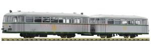 Fleischmann - Ferrobus 591 301, Renfe, Plata, Analogico, Escala N, Ref: 740004.