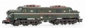 Arnold - Locomotora Electrica Renfe 277.048 ( Verde-Plata ), ENVEJECIDA, Escala N, Analogica. Ref: HN2343W.