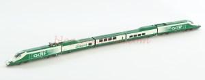 IH - Tren Auscultador Adif A-330, Verde-Blanco, logo Seneca, Serie limitada, Escala N, Ref: IH-T002.