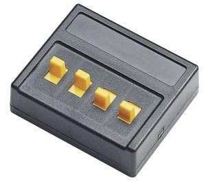 Roco - Interruptores simples para comandar cuatro contactos ( Salidas ), Ref: 10524.
