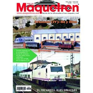 Revista mensual Maquetren, Nº 324, 2020.