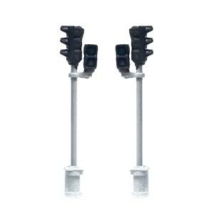 Mafén - Semáforos Combinados ( Vehículos-Peatones ), 2 unidades, Serie Fine Scale, Escala N, Ref: 383003.
