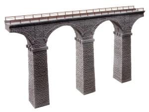 Noch - Viaducto de Rávena, de piedra triturada, Tramo recto, Escala H0, Ref: 58675.