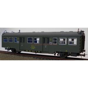 K*Train - Coche viajeros serie 7000, 2ª clase C-7007, Escala H0, Ref: 0601-M.