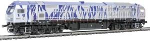 Mehano - Locomotora Diesel BT2, Blue Tiger, Epoca VI, Escala H0, Analogica, Ref: 6346.