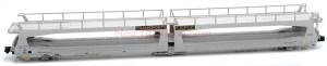 Mftrain - Vagón portacoches TA370 Gefco, SNCF, Epoca V, Escala N, Ref: N33265.