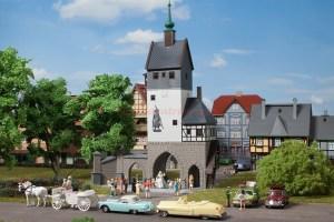 Auhagen - Puerta amurallada de la Ciudad, Epoca I, Escala H0, Ref: 12342.