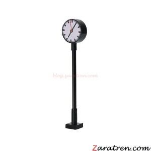 Zaratren - Reloj de Estación con luz, Tecnologia LED, Escala H0, Ref: ZT-DE1019.