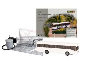 Faller - Set de iniciación Car System de Faller con Autobus MB 0405, Ref: 161495.