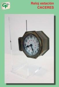 Gestión Ferroviaria - Reloj de la Estación de Cáceres, Ref: ZT-GE1001.
