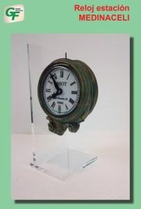 Gestión Ferroviaria - Reloj de la Estación de Medinaceli, Ref: ZT-GE1002.