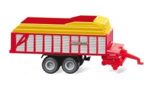 Wiking - Remolque de forraje Jumbo Ladewagen, Escala N, Ref: 095602.