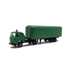 Toyeko - Pegaso Barajas Fruehauf Verde. Escala H0. Ref: 2126-V.