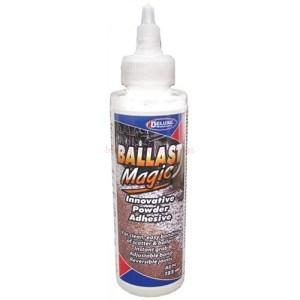 Deluxe - Pegamento para balasto en polvo, Balast Magic, Envase de 125 ml. Ref: 276AD74.
