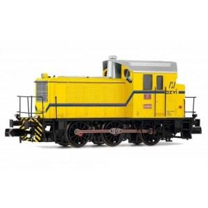Arnold - Locomotora Diésel 10393, Azvi, Color Amarillo, Analogica, Escala N. Ref: HN2508