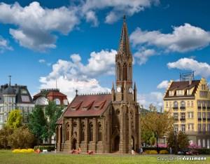 Vollmer - Catedral de Stuttgart-Berg, Epoca I, Escala N, Ref: 47760.