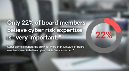 cyber risk expertise among board members