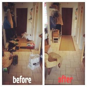 Posprzątałam!