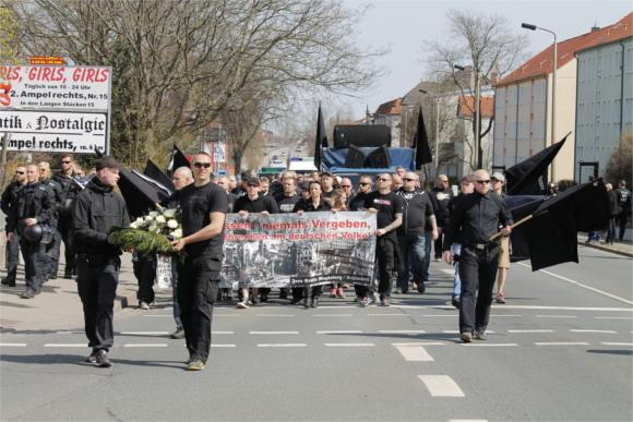 Neonaziaufmarsch am 11.April in Halberstadt