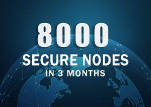 zencash secure nodes reach 8000+ in 3 month