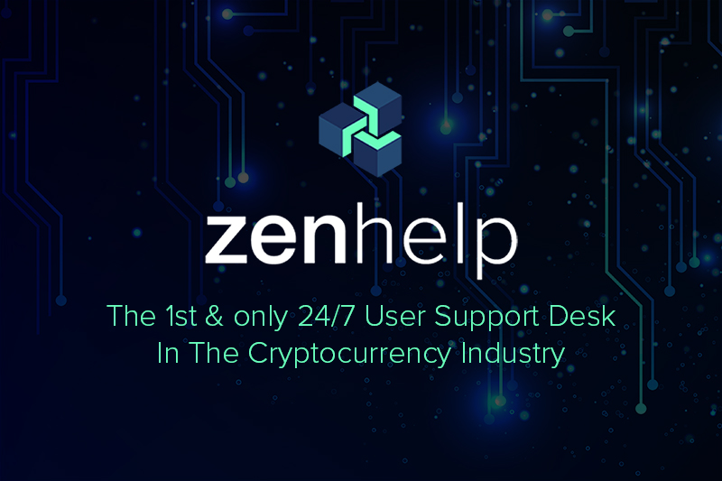 ZenHelp The First Cryptocurrency Help Desk