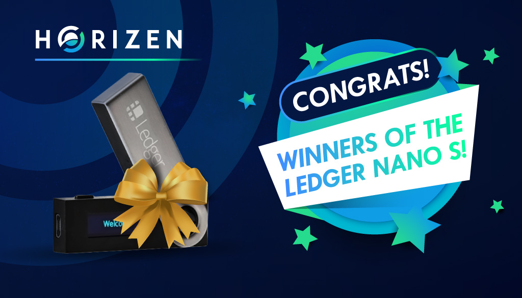 Ledger Nano S Winners!