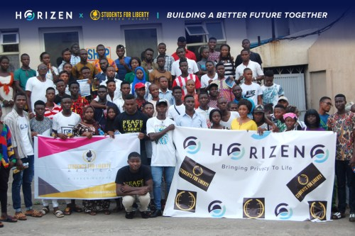 horizen and students for liberty